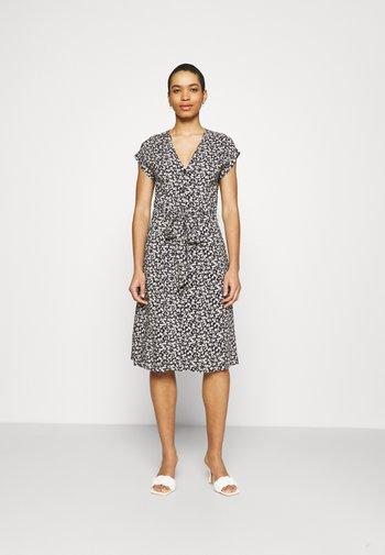 DRESS INGRID - Shirt dress - navy