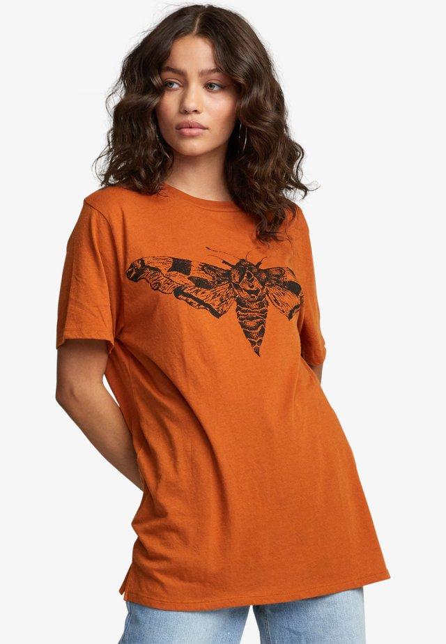 T-shirt imprimé - dark orange