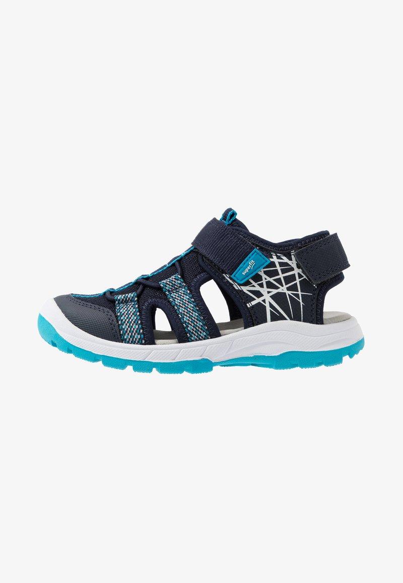 Superfit - TORNADO - Chodecké sandály - blau