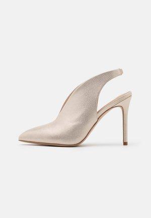 POND - Zapatos altos - gold shimmer
