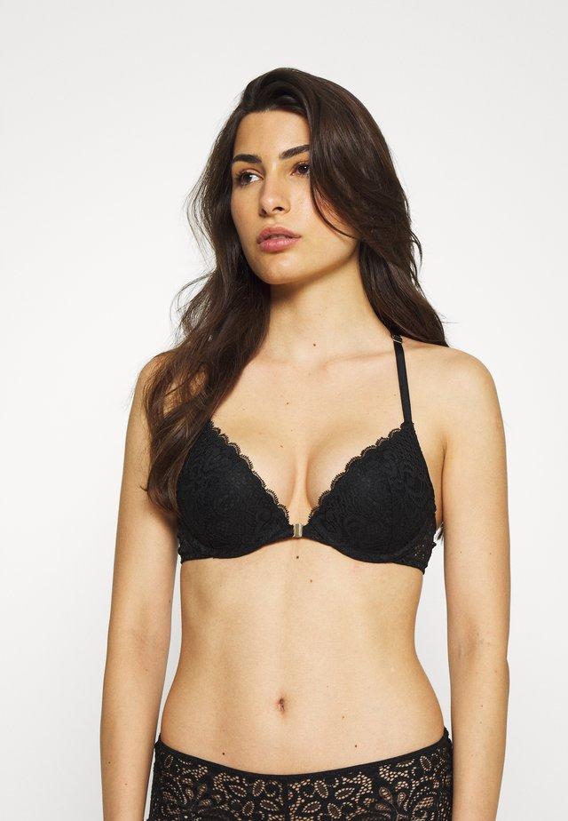 MANDALA N°2 CLASSIQUE - Push-up bra - noir