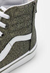 Vans - SK8 ZIP - High-top trainers - grape leaf/true white - 5