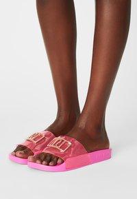 River Island - Mules - bright pink - 0