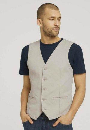 Suit waistcoat - sandy dust beige