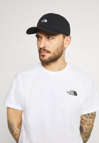 The North Face - WASHED NORM HAT UNISEX - Pet - black - 0