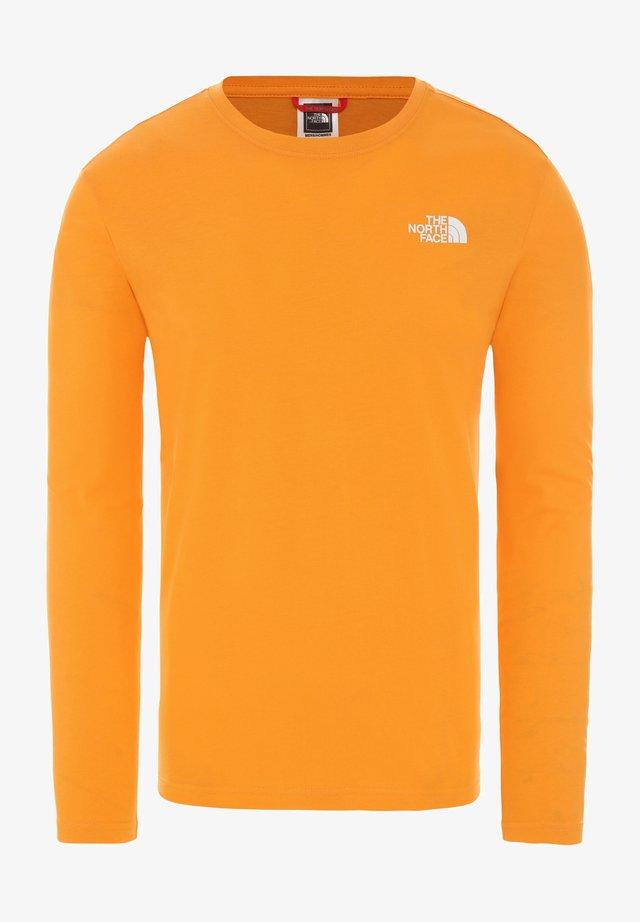 MENS BOX TEE - Longsleeve - flame orange