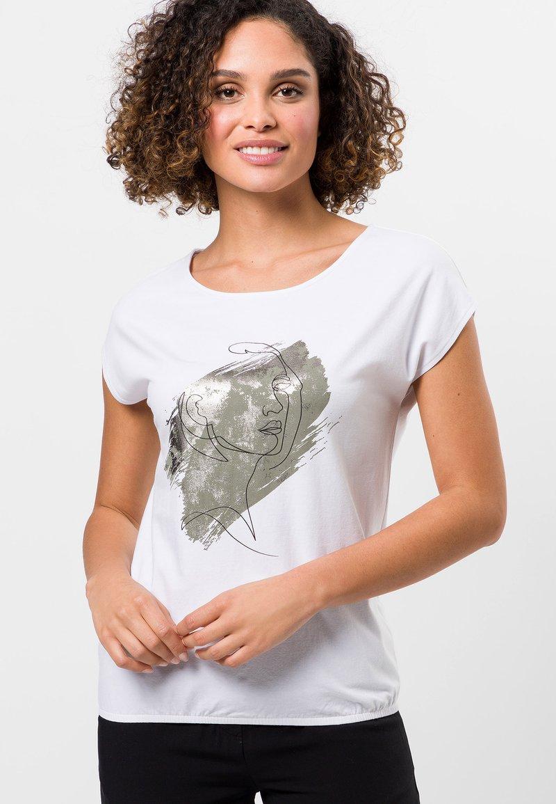 zero - Print T-shirt - white