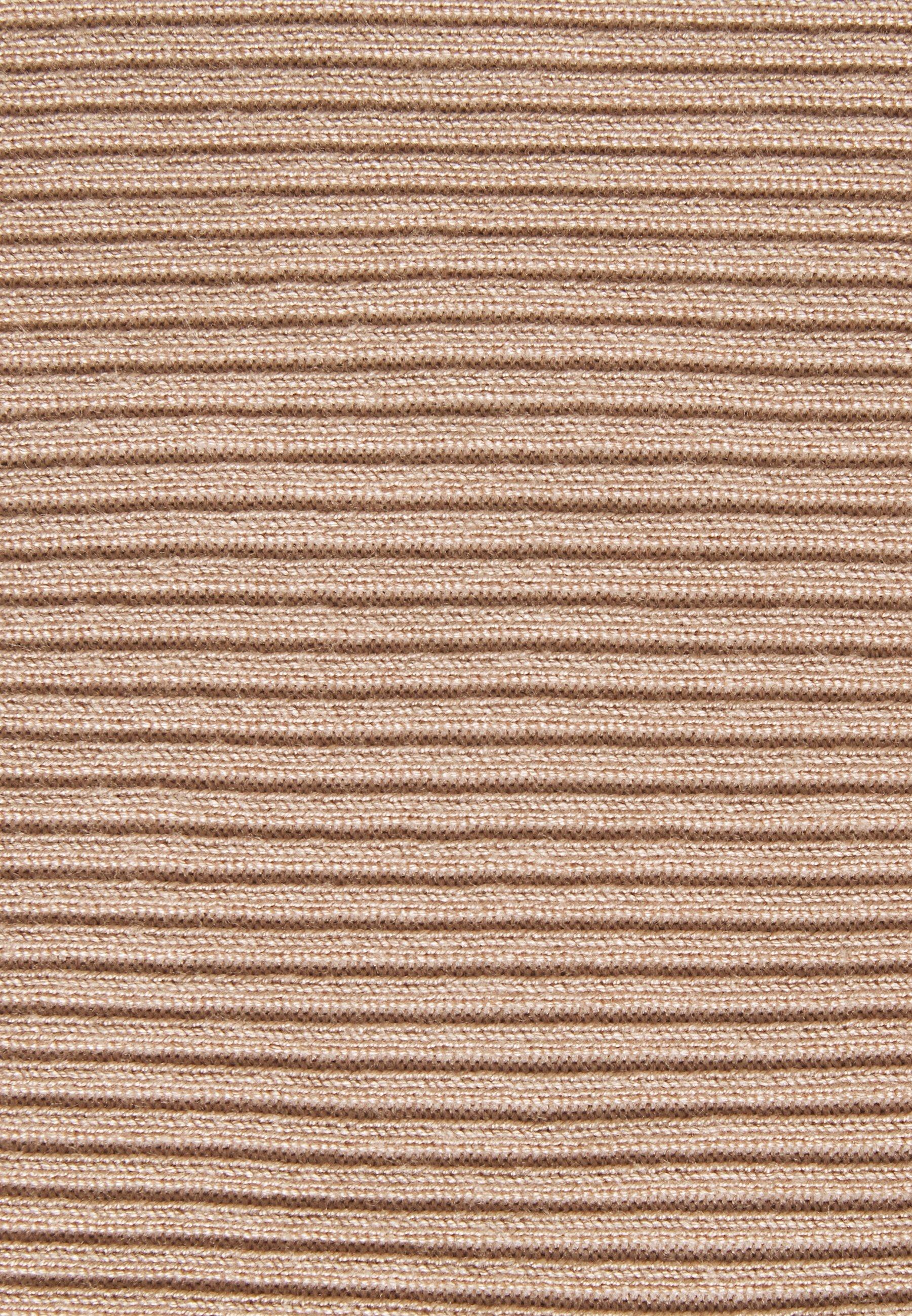 Missguided Tall Roll Neck Crop Jumper - Strikkegenser Sand/beige