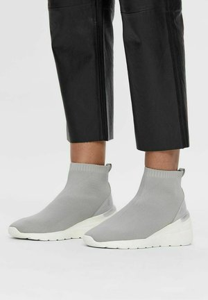 BIACLARE  - High-top trainers - lightgrey