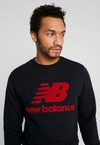 New Balance - ATHLETICS STADIUM CREW - Sweatshirt - black - 3