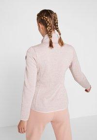 Icepeak - ABBYVILLE - Fleecová bunda - baby pink - 2