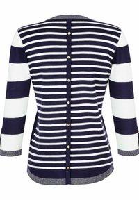 Laura Kent - Sweatshirt - marineblau,weiß - 5