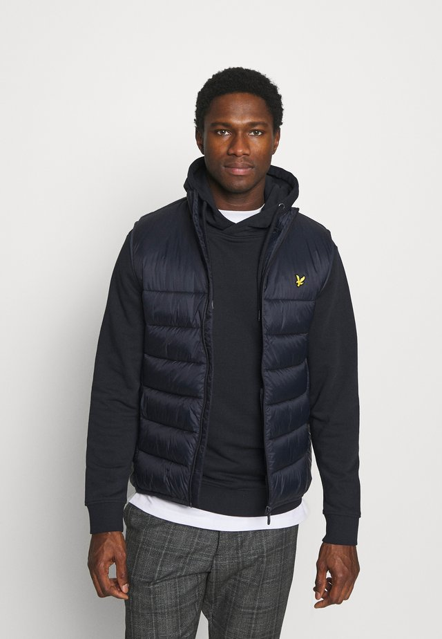WADDED GILET - Bodywarmer - dark navy