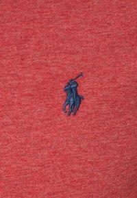 Polo Ralph Lauren - CUSTOM SLIM FIT JERSEY CREWNECK T-SHIRT - Jednoduché triko - venetian red heather - 2