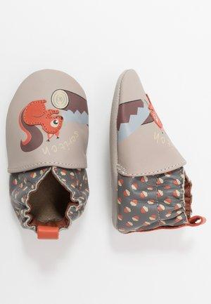 WOODCUTTERS - První boty - beige/gris