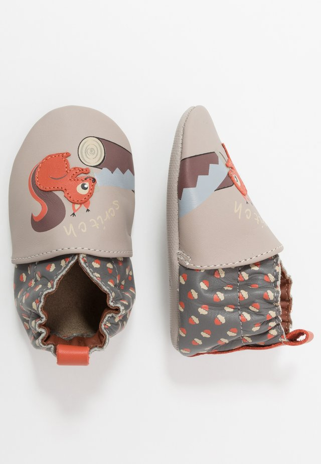 WOODCUTTERS - Patucos - beige/gris
