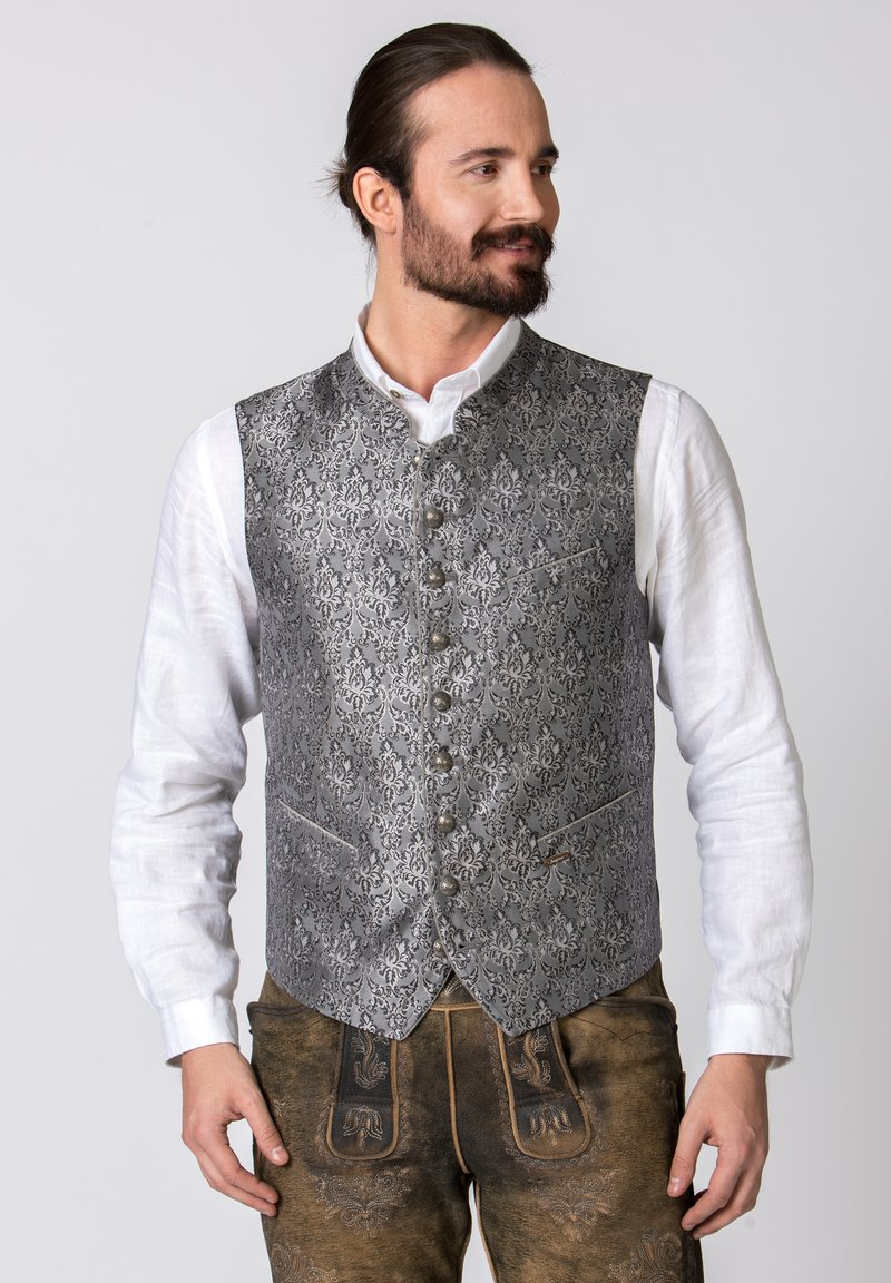 Stockerpoint - JORDAN - Waistcoat - grey