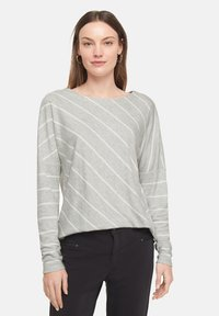 comma casual identity - Long sleeved top - grey diagonal stripes - 3