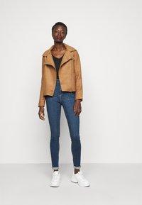 ONLY Tall - ONLASHA BIKER - Summer jacket - toasted coconut - 1