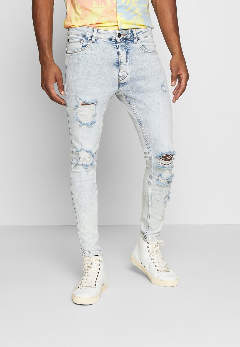 Gym King - CLIFTON  - Jeans Skinny Fit - blue