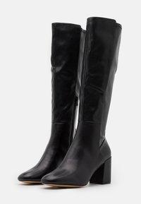 ALDO - SATORI - Vysoká obuv - black - 1