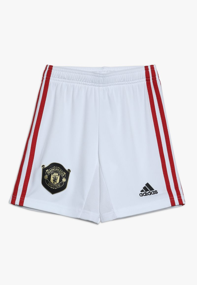 adidas Performance - MANCHESTER UNITED FC HOME - Sports shorts - white
