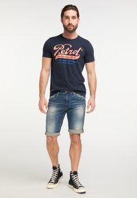 Petrol Industries - Denim shorts - blue - 1