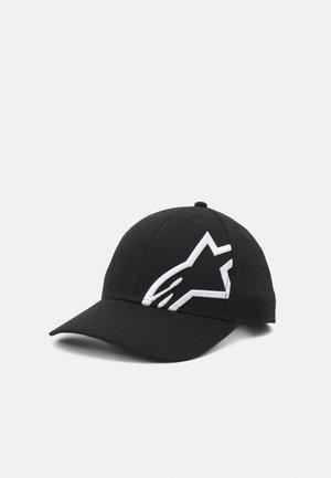 CORP SNAP HAT UNISEX - Pet - black/white