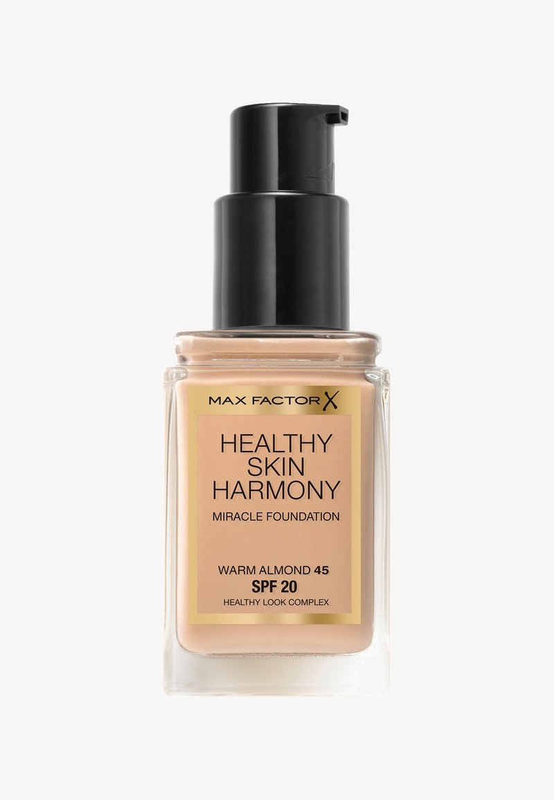 Max Factor - HEALTHY SKIN HARMONY MIRACLE FOUNDATION - Foundation - 45 warm almond