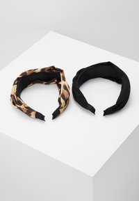 Even&Odd - 2 PACK - Hair Styling Accessory - black/brown - 2