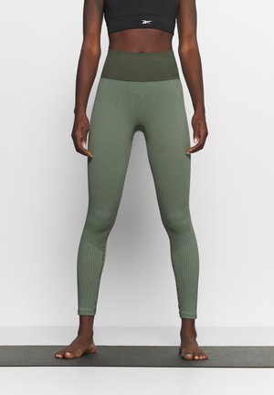 SEAMLESS - Tights - northern green