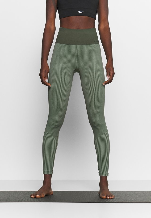 SEAMLESS - Legging - northern green