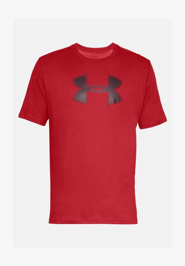 UA BIG LOGO SS - Camiseta básica - red