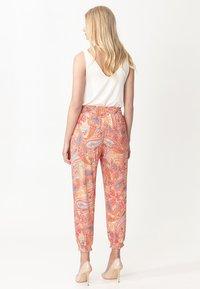 Indiska - RADHAA - Trousers - pink - 3