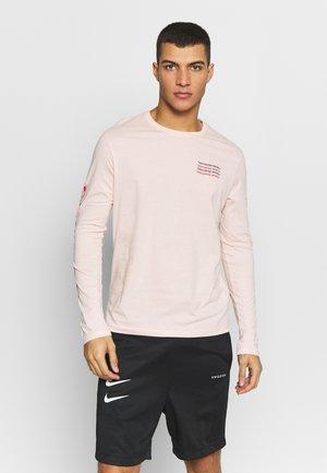 Langærmede T-shirts - pink