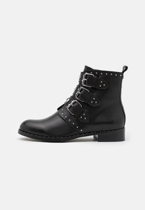 GALIANA - Cowboy/biker ankle boot - noir
