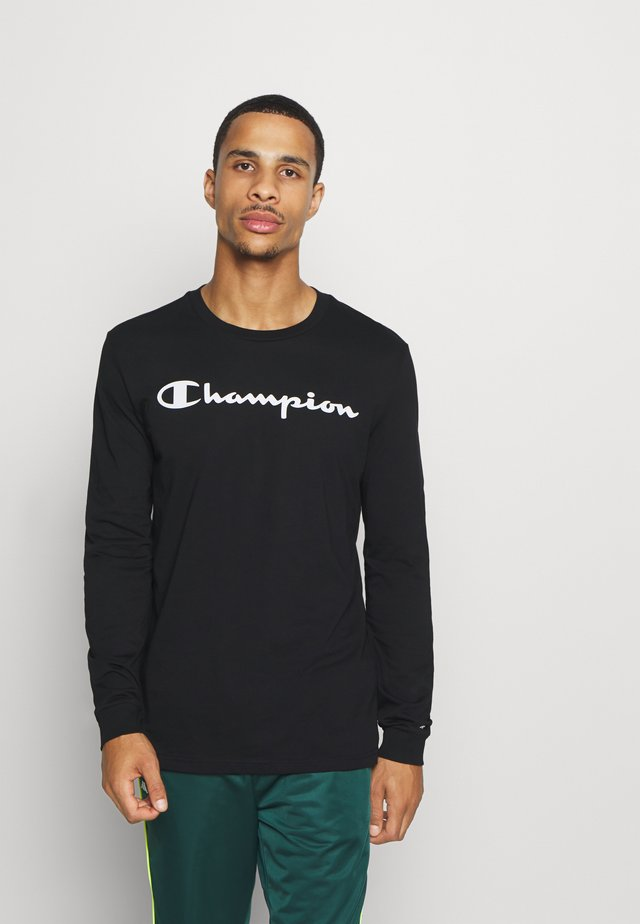 LEGACY CREWNECK LONG SLEEVE - Langærmede T-shirts - black
