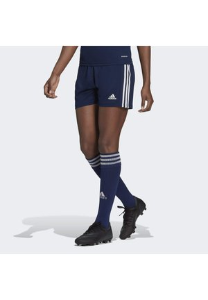 SQUADRA - Pantalón corto de deporte - team navy blue/white