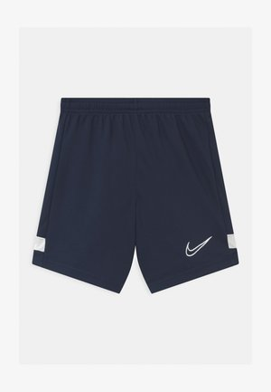 ACADEMY UNISEX - Sports shorts - obsidian/white