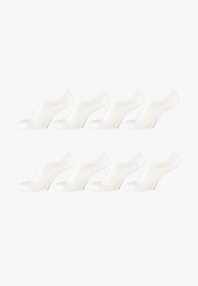 8 PACKS - Sokken - white