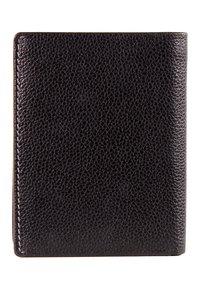 Braun Büffel - MIT NARBENSTRUKTUR - Wallet - black - 1