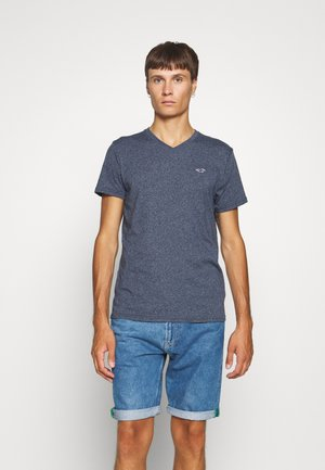 SOLIDS  - Basic T-shirt - navy siro
