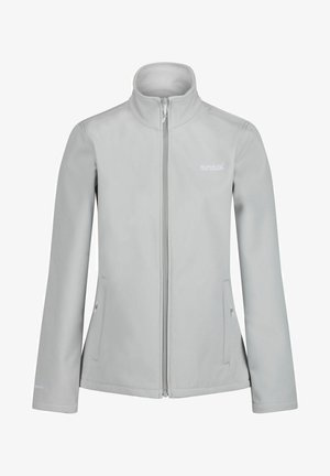 Soft shell jacket - light steel (ltst)
