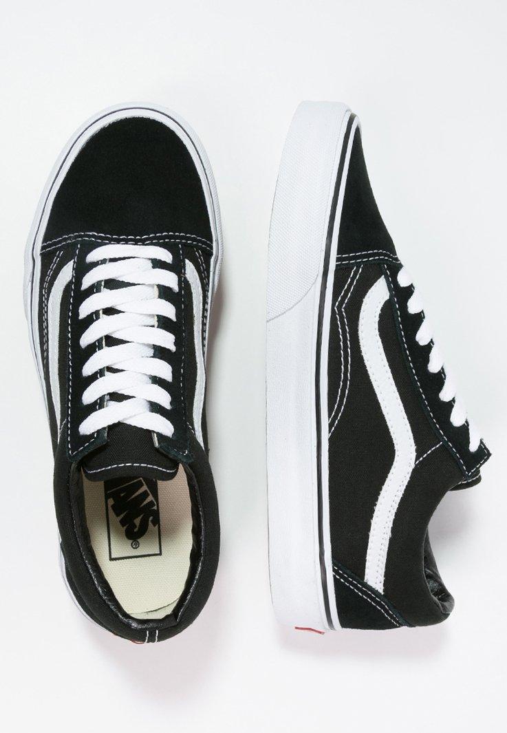 OLD SKOOL - Skateschoenen - black