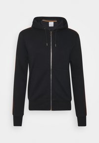 Paul Smith - GENTS ZIP THROUGH TAPED SEAMS HOODY - Mikina na zip - black - 4