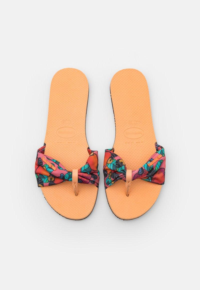 Havaianas - YOU TROPEZ - Boty do bazénu - peach