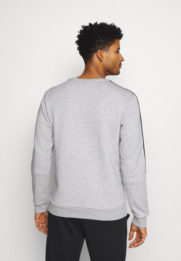 adidas Performance CUT - Bluza - medium grey heather/black/szary Odzież Męska DDVW