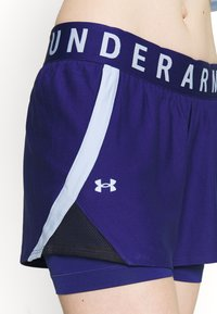 Under Armour - PLAY UP SHORTS - Pantaloncini sportivi - blue - 5