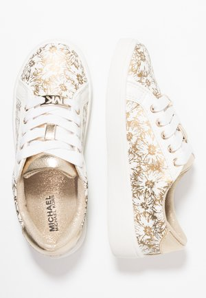 ZIA IVY FLORAL - Sneakers laag - white/gold