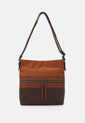 ELLEN - Across body bag - cognac